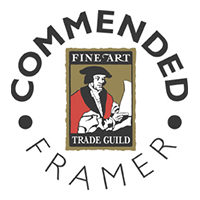 Fine Art Trade Guild Commended Framer