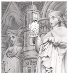 Cathedral - Original Pencil Drawing