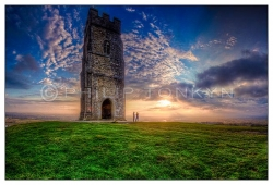 Sunset on the Tor