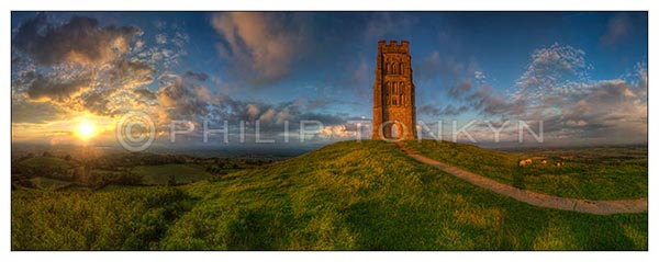 Soltice Sunset, Glastonbury Tor