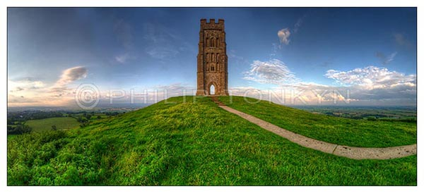 Summer Evening, Glastonbury Tor