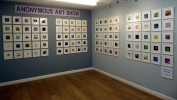 Anonymous Art Show photos from 2016 Exhibition