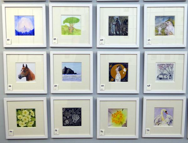 Anonymous Art Show 2019 - Exhibition   Glastonbury Galleries